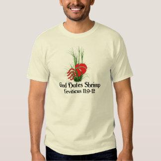 God Hates Shrimp T-shirts