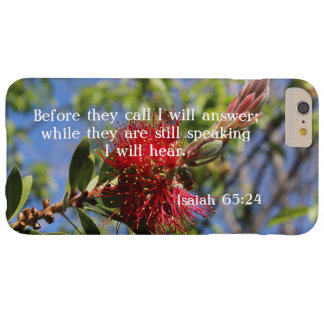 God Hears You Bible Verse iPhone 6/6S Case
