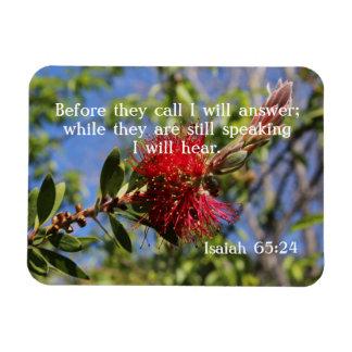 God Hears You Bible Verse Magnet