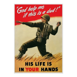 God Help Me If This Is A Dud! -- Border Poster