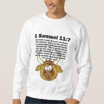God Hurts Animals Sweatshirt