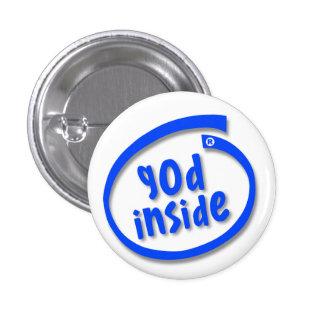 God Inside Pinback Button