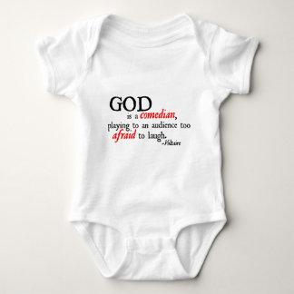 God is A Comedian Infant Creeper