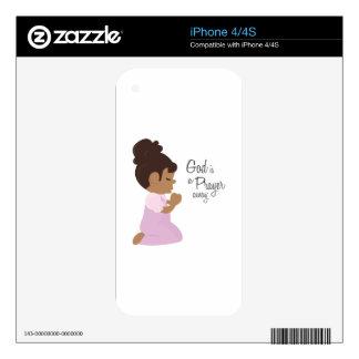 God Is A Prayer Away iPhone 4 Skin