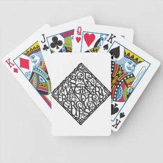 God is an imaginary friend for grown ups bicycle playing cards