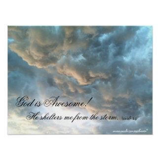 God is Awesome Print