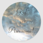 God is Awesome! Sticker