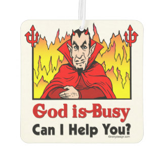 God Is Busy, Can I Help You?