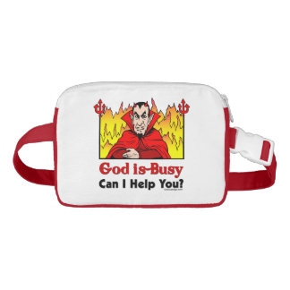 God Is Busy, Can I Help You? Fanny Pack