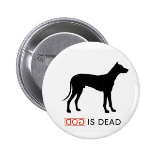 God is Dead badge Pinback Button