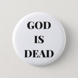 God is dead button