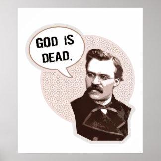 God is dead (Nietzsche) Print