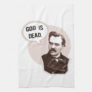 God is dead (Nietzsche) Towel
