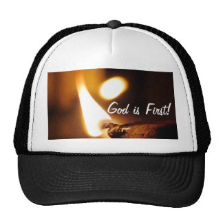 God Is First Shining Light Hats