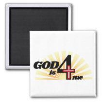 God is for me magnet