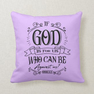 GOD Is For Us Throw Pillow