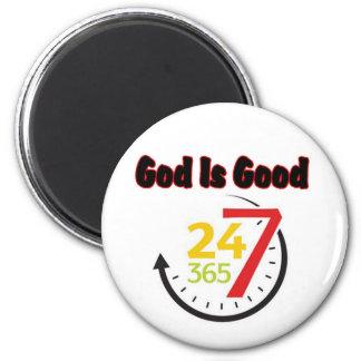 God Is Good 247 magnet