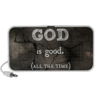 God is Good...All the Time Custom Christian iPhone Speaker