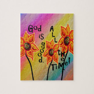 God is Good All the Time Jigsaw Puzzle