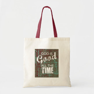 God is Good all the Time Tote