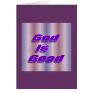 God is Good Card