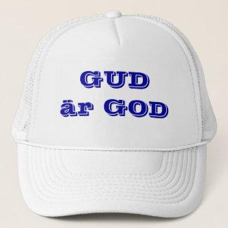 God is good in SWEDISH. Trucker Hat
