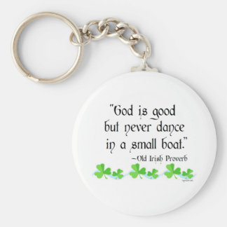 God is good keychain