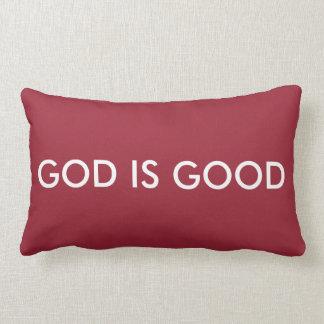 """God is good - Lumbar Pillow 13"""" x 21"""""""