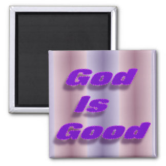 God is Good 2 Inch Square Magnet