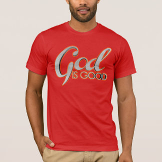 God Is Good Poly-Cotton Blend T-Shirt
