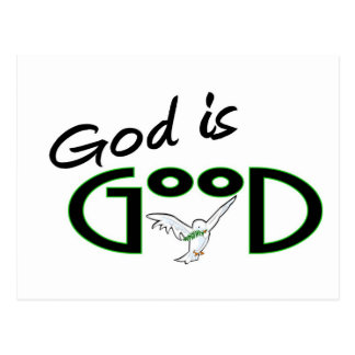 God is Good Postcard