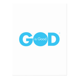 God is Good Postcard