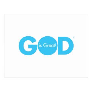 God is Great! Postcard