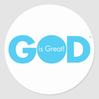God is Great! Stickers