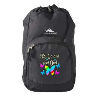 GOD IS IN CHARGE BACKPACK