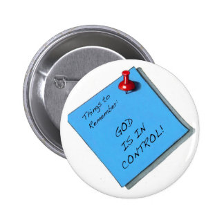 GOD IS IN CONTROL MEMO PIN