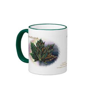 God is in the details... ringer coffee mug