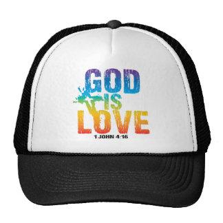 God is love 1 John 4:16 Trucker Hat