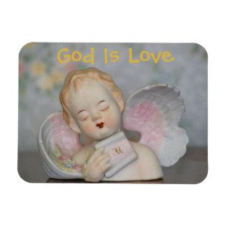 God Is Love Angel Magnet
