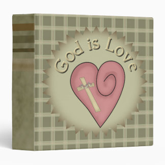 God Is Love Avery Binder