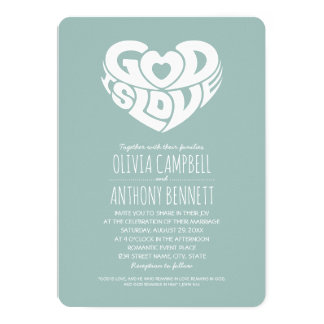 Bible verse wedding invitations announcements zazzle for Wedding cards god images