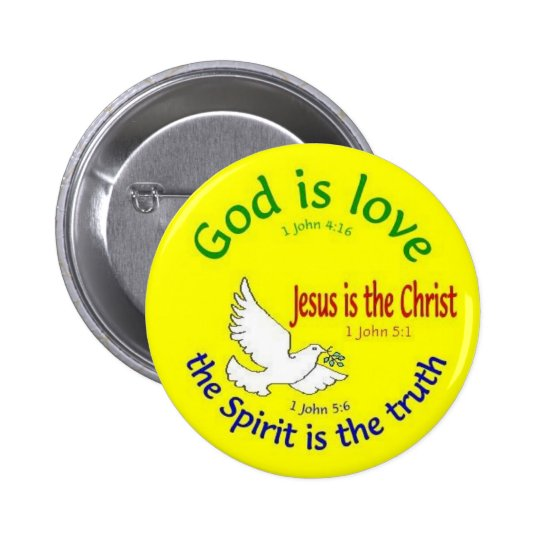 God is Love Button