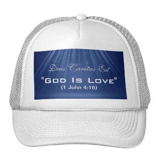 """God Is Love"" Custom Hat"