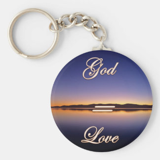 God Is Love God = Love God=Love Keychain