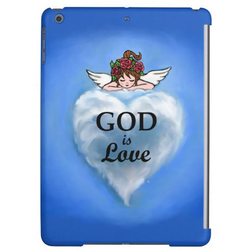 God Is Love iPad Air Cases
