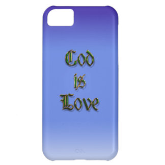 God is Love iPhone 5C Cover