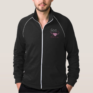God is love, personalized christian jumper jacket