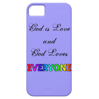 God is Love Rainbow phone case iPhone 5 Cover
