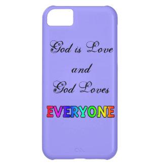 God is Love Rainbow phone case iPhone 5C Cover