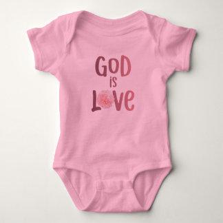God is Love – Spiritual and Religious - Baby Baby Bodysuit